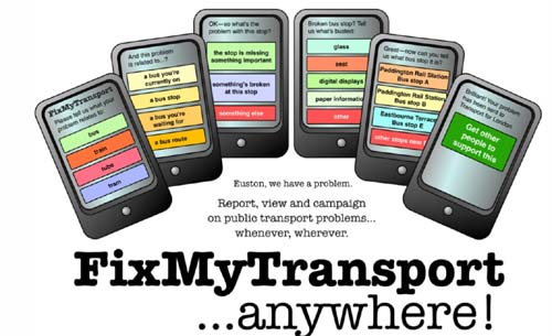 FixMyTransport...anywhere