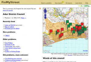 Adur District Council reports