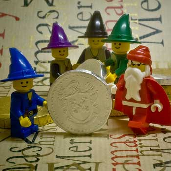 Santa's Chocolate Coin Mint by Johnathan_W