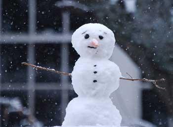 Snowman Neighbor by Melinda Shelton