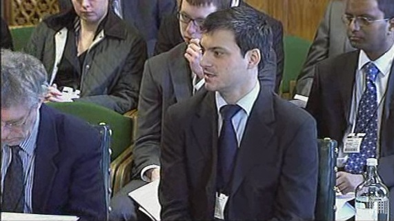 Alex Skene, WhatDoTheyKnow.com, at the Justice Select Committee