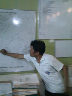 DPWH wall maps