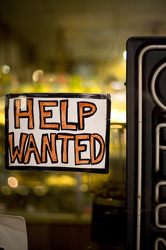Help Wanted by  Matt Wetzler, used with thanks under the Creative Commons licence