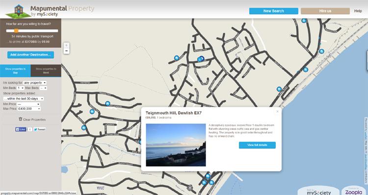 Mapumental Property screenshot