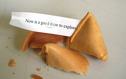 Now Is A Good Time To Explore by Minivan Ninja