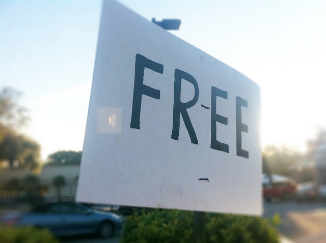 Free Sign by Ken Hawkins