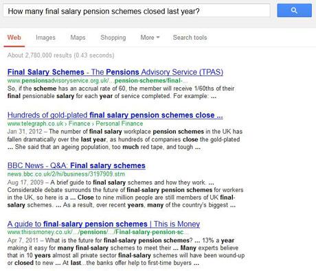 Pensions Regulator Google Search