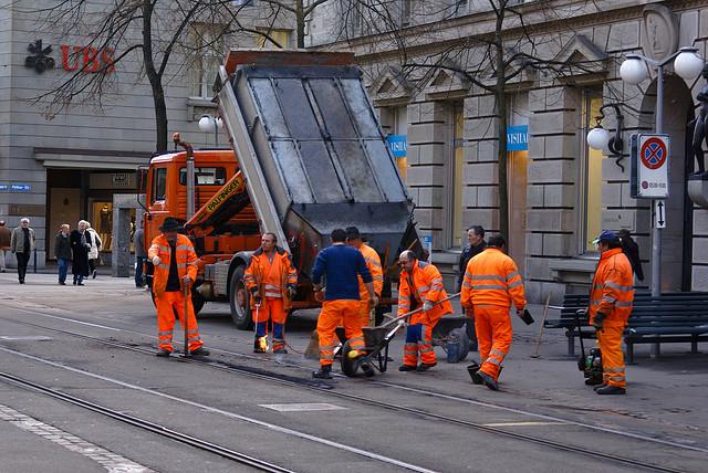 Orange Man Group by Clemens v. Vogelsang