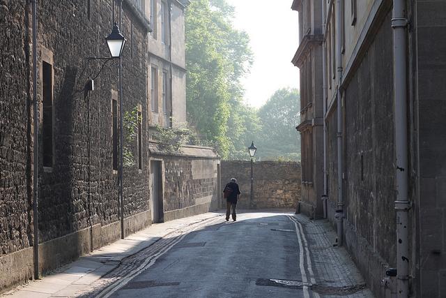 Oxford April by Tejvan Pettinger