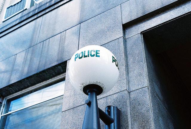 Police by Aaron van Dorn