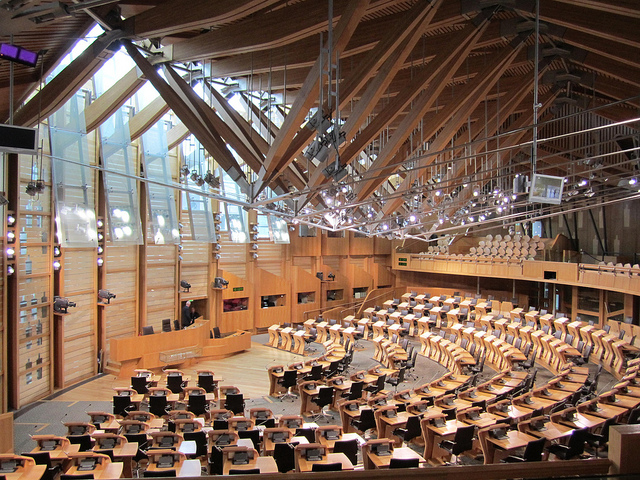 Scottish Parliament by Shelley Bernstein