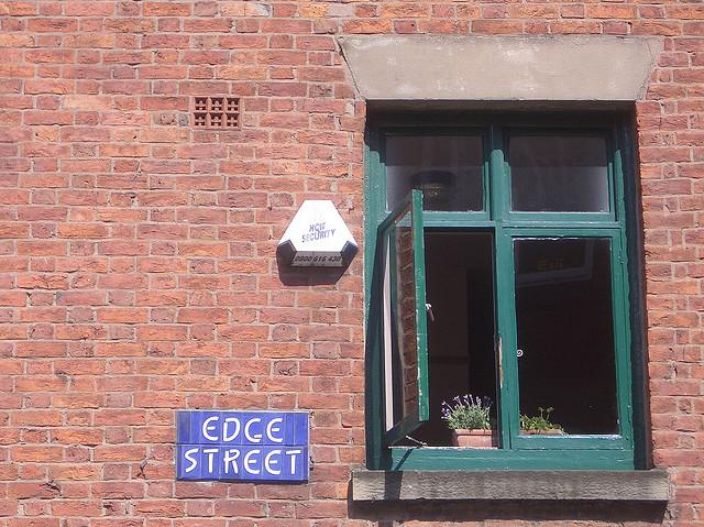 Edge Street Window by Duncan Hill