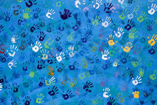 Hopeful Helping Hands by Matt Katzenberger