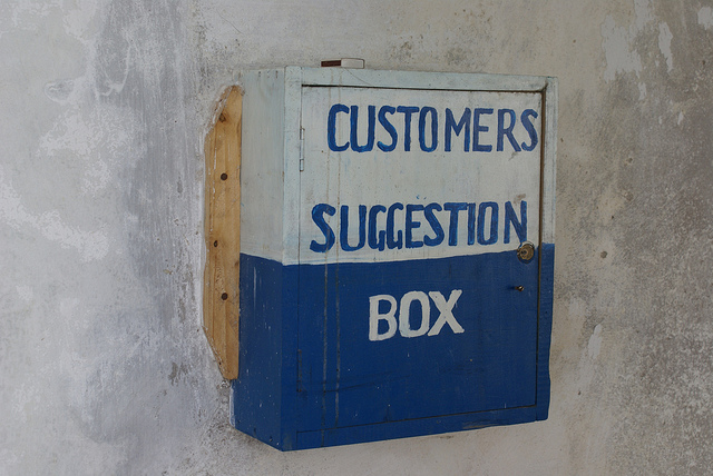 Kenya Electricity Corporation Suggestion Box by Lindsay Bremner