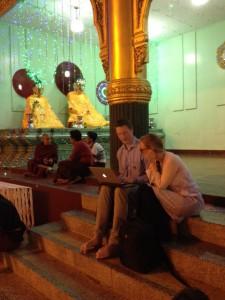 mySociety at Shwedagon Pagoda