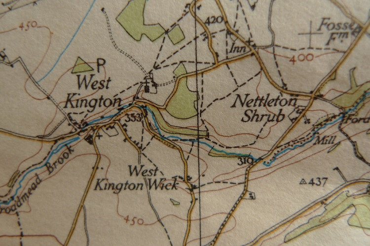 """Ordnance Survey """"One-Inch"""" Map by Christopher Bulle"""