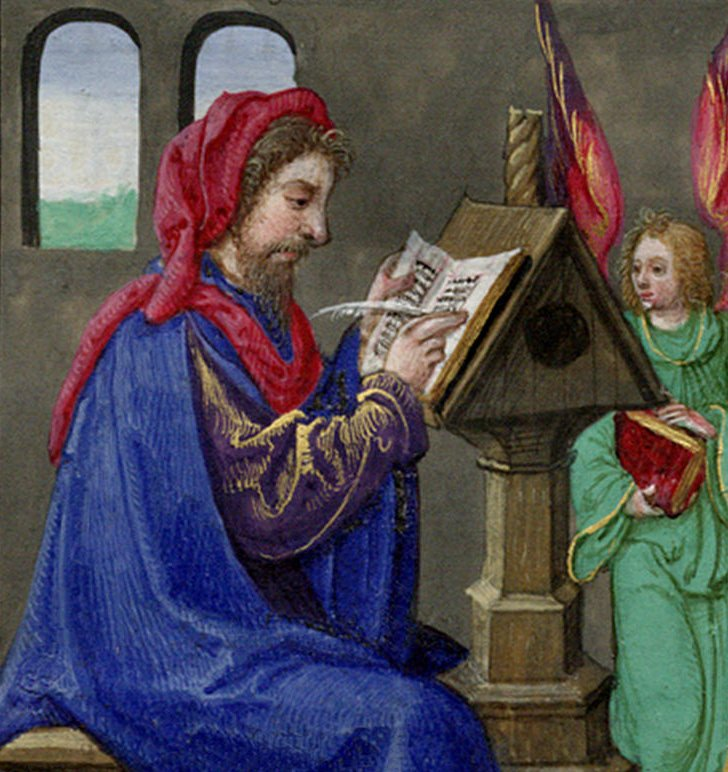 A Scribe from the Book of Hours