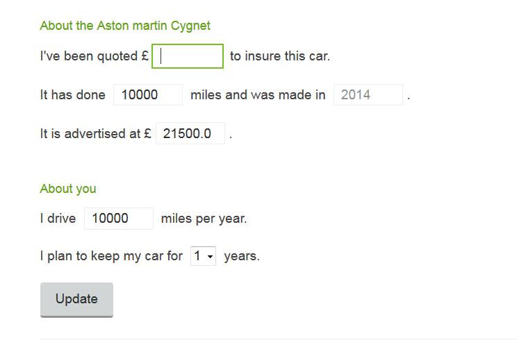 Car tool - add further info