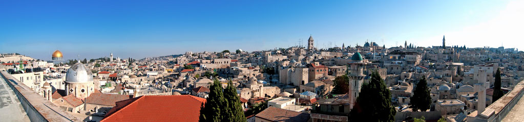 Jerusalem panorama of rooftops by Ilya Grigorik