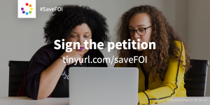 SaveFOI: sign a petition