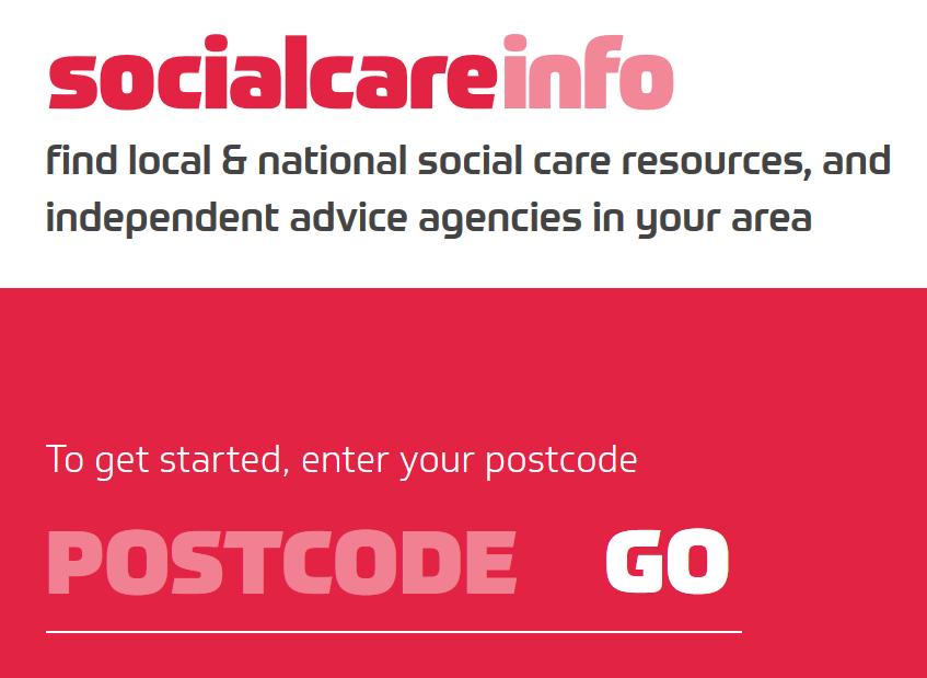 socialcareinfo - homepage