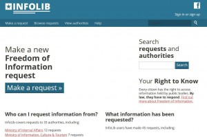 Info Lib, an Alaveteli Freedom of Information website for Liberia