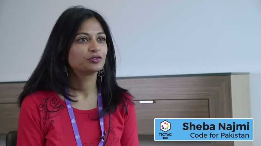 Interview with Sheba Najmi from Code for Pakistan