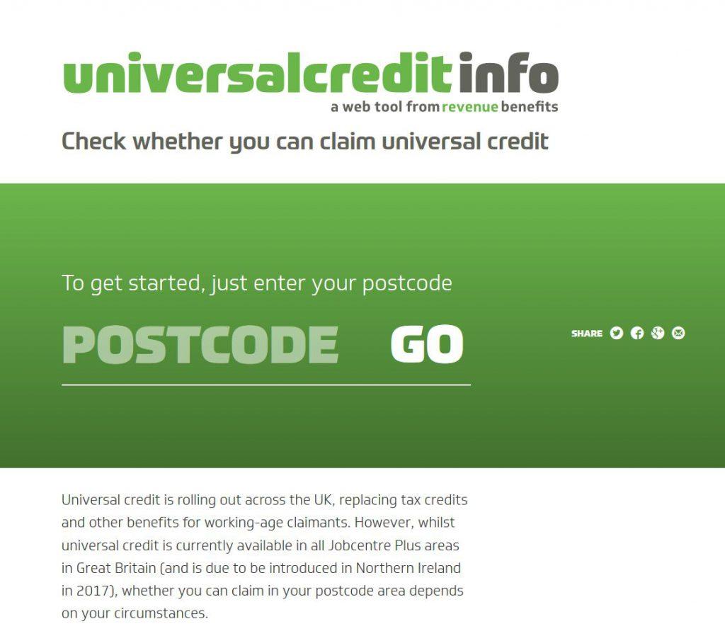 Lasa's Universal Credit tool