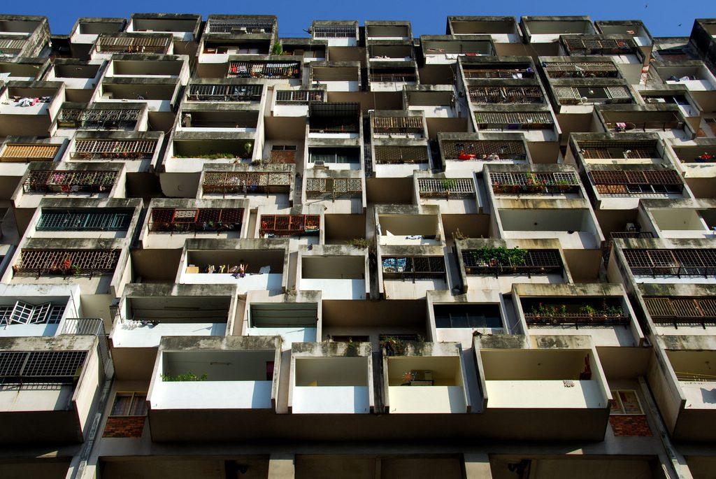 Image by Tinou Bao - balconies on a tower block in Kuala Lumpur, Malaysia