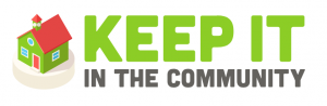 Keep It In The Community Logo