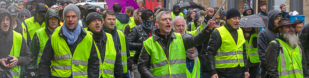 Image by Patrice Calatayou - Gilets Jaune marching in Paris