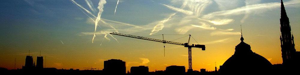 Image by Ken Douglas - sunrise over urban silhouettes