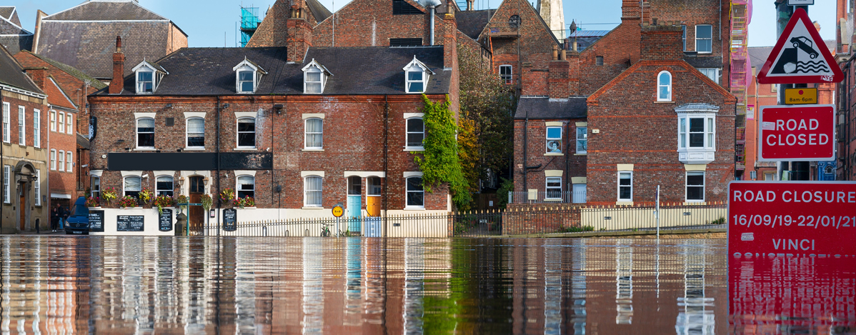Image by Andy Falconer - flooding in York, UK