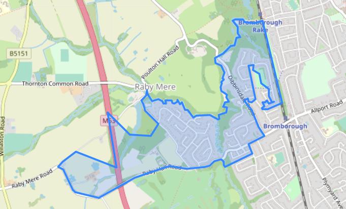 LSOA boundary on openstreetmap