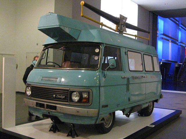 Photo of a TV detector van by Eagleash